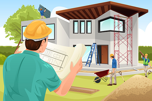 Building A New House Cartoon : When and why you need to start a home improvement project