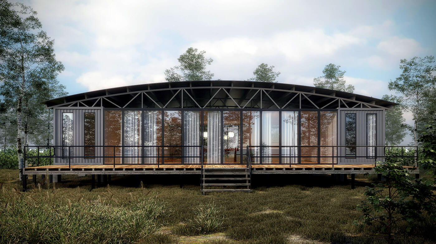 Container Home, Cook Islands
