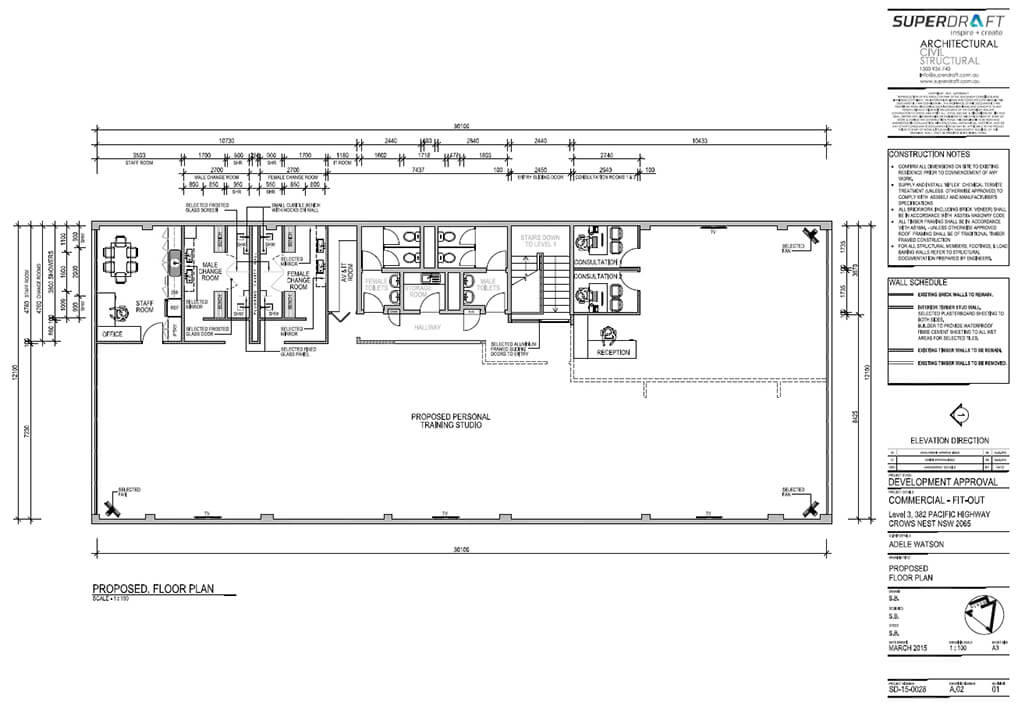 Superdraft project roundup sydney drafting services for Floor plan drafting services
