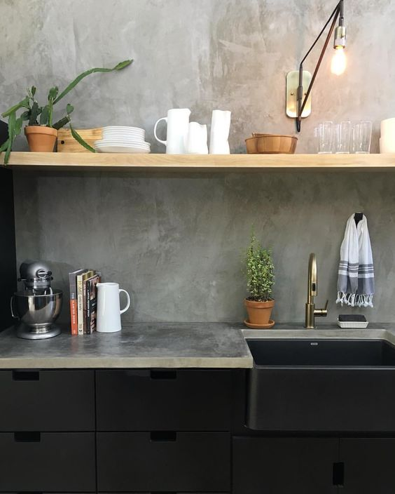 Would You Use Heavy Or Light Mineral For A Kitchen : How to Rock a Matte Black Kitchen Superdraft Australia