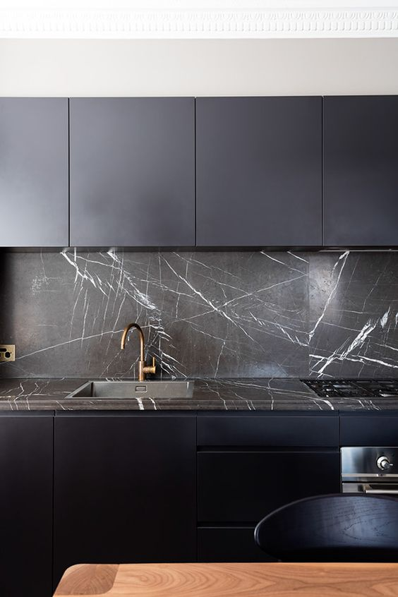 How To Rock A Matte Black Kitchen