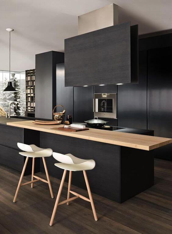 How to Rock a Matte Black Kitchen