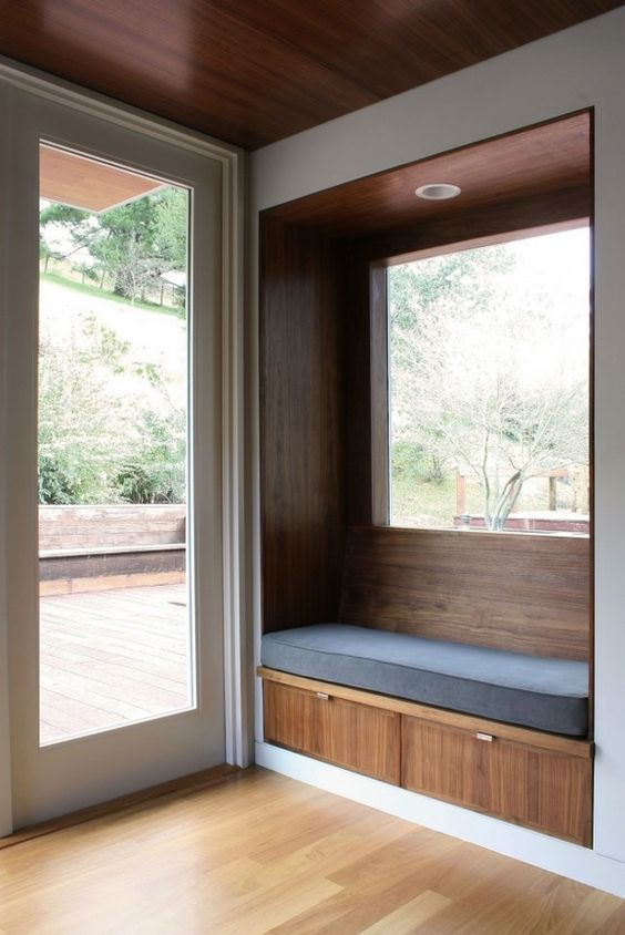 Bay Window Seating Styles | Window seat kitchen, Home, Bay ...