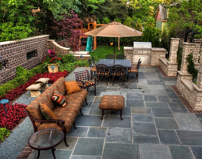 natural stone patio flooring