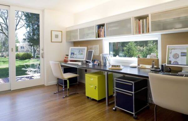 Home Office Ideas that Fit Two (2) or More Adults