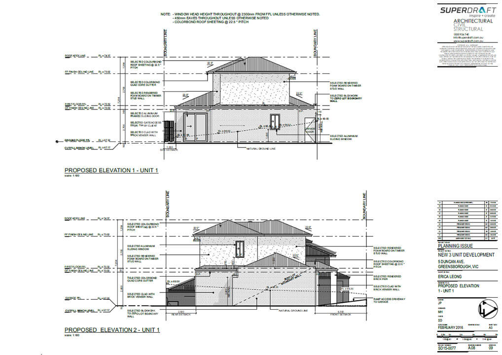 Duncan Avenue Development: Melbourne Architecture