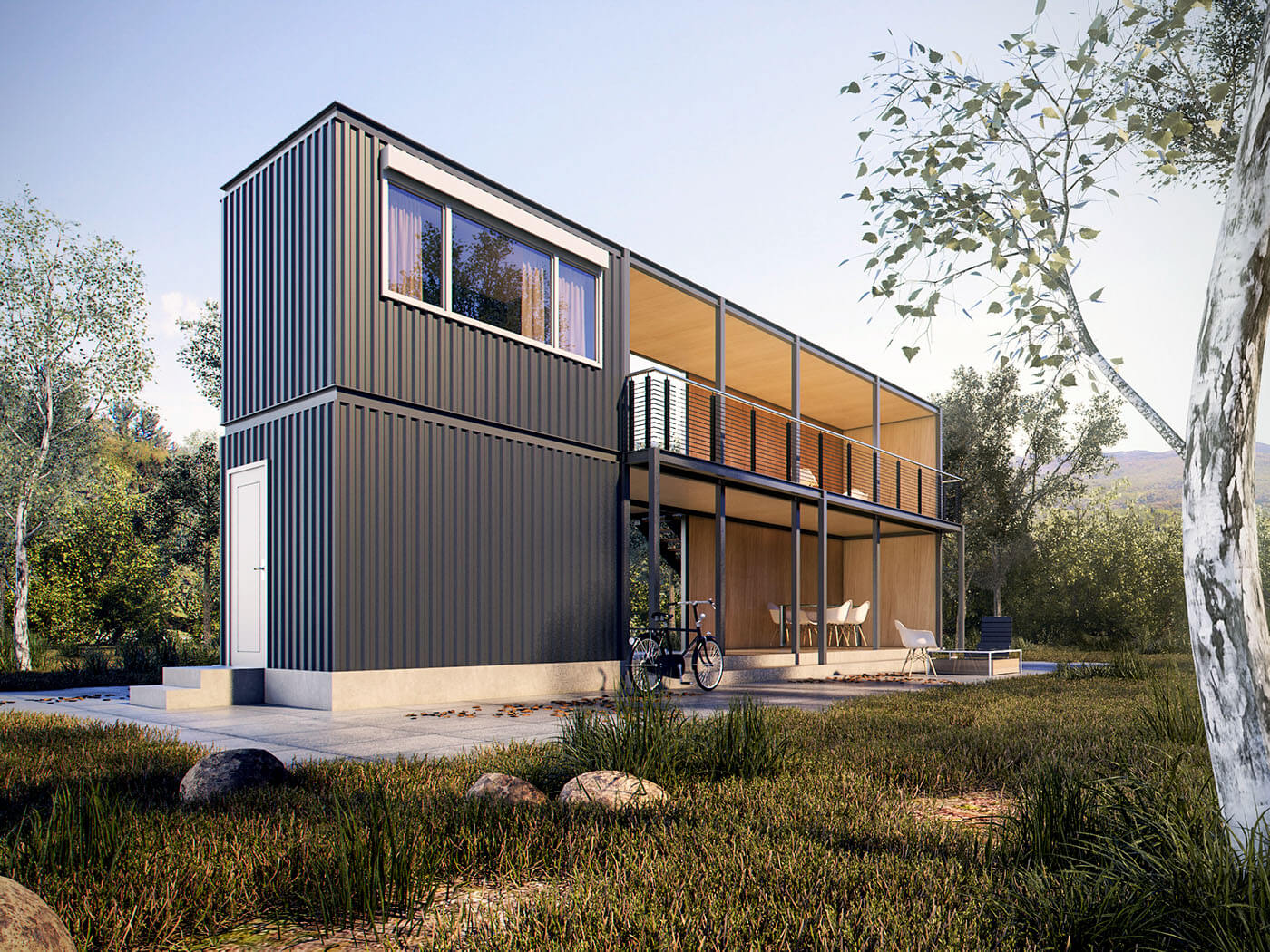 Shipping container homes qld