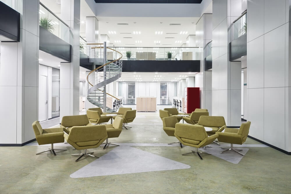 How to Build a Reception Design that Leverages your Company's Image