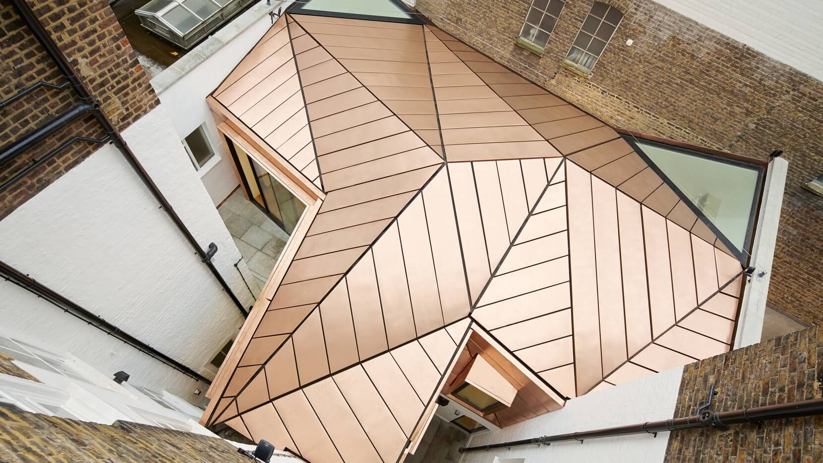 Copper Architecture: GMS Estates Copper Roof