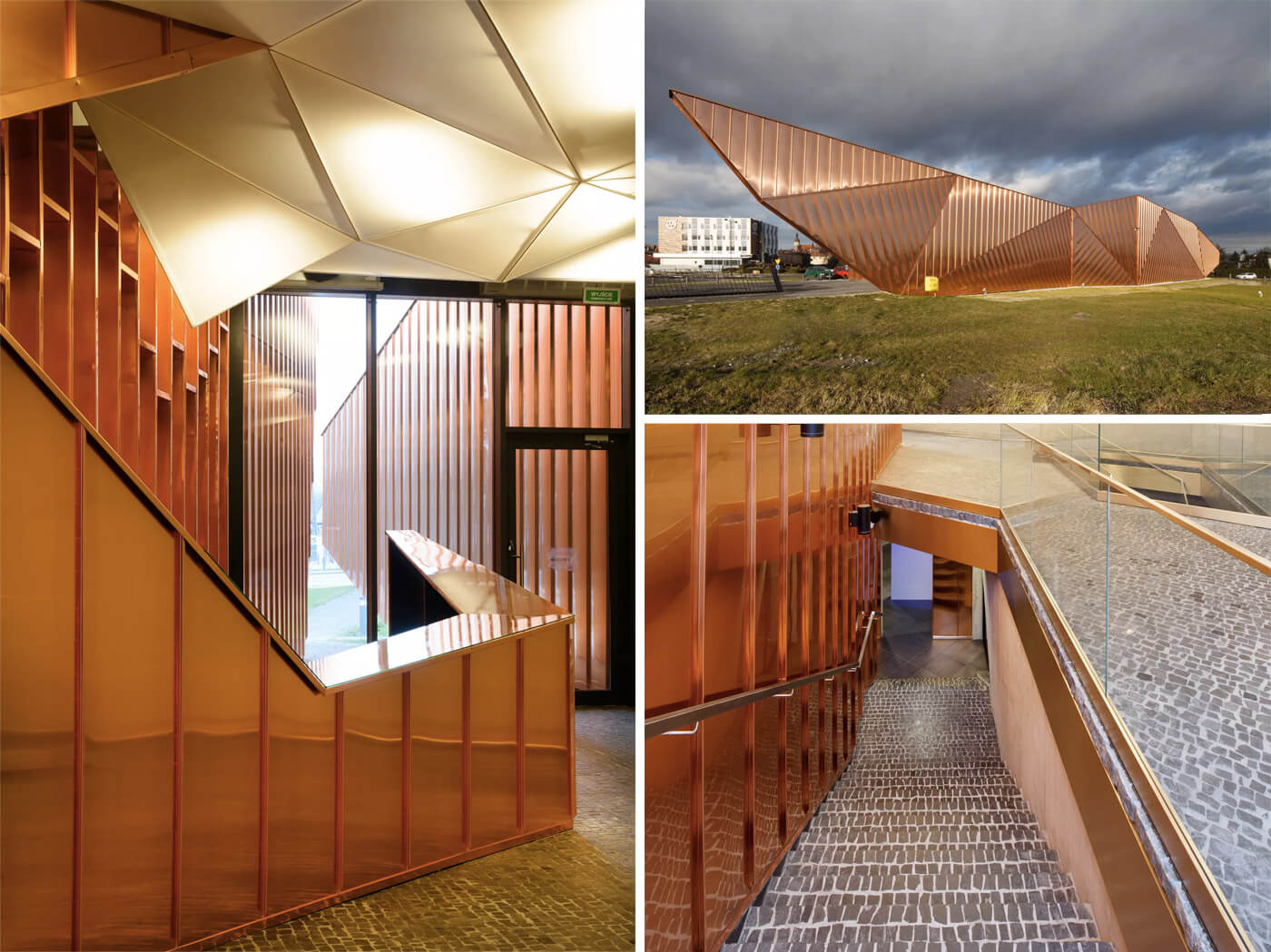 Copper Architecture: Museum of Fire