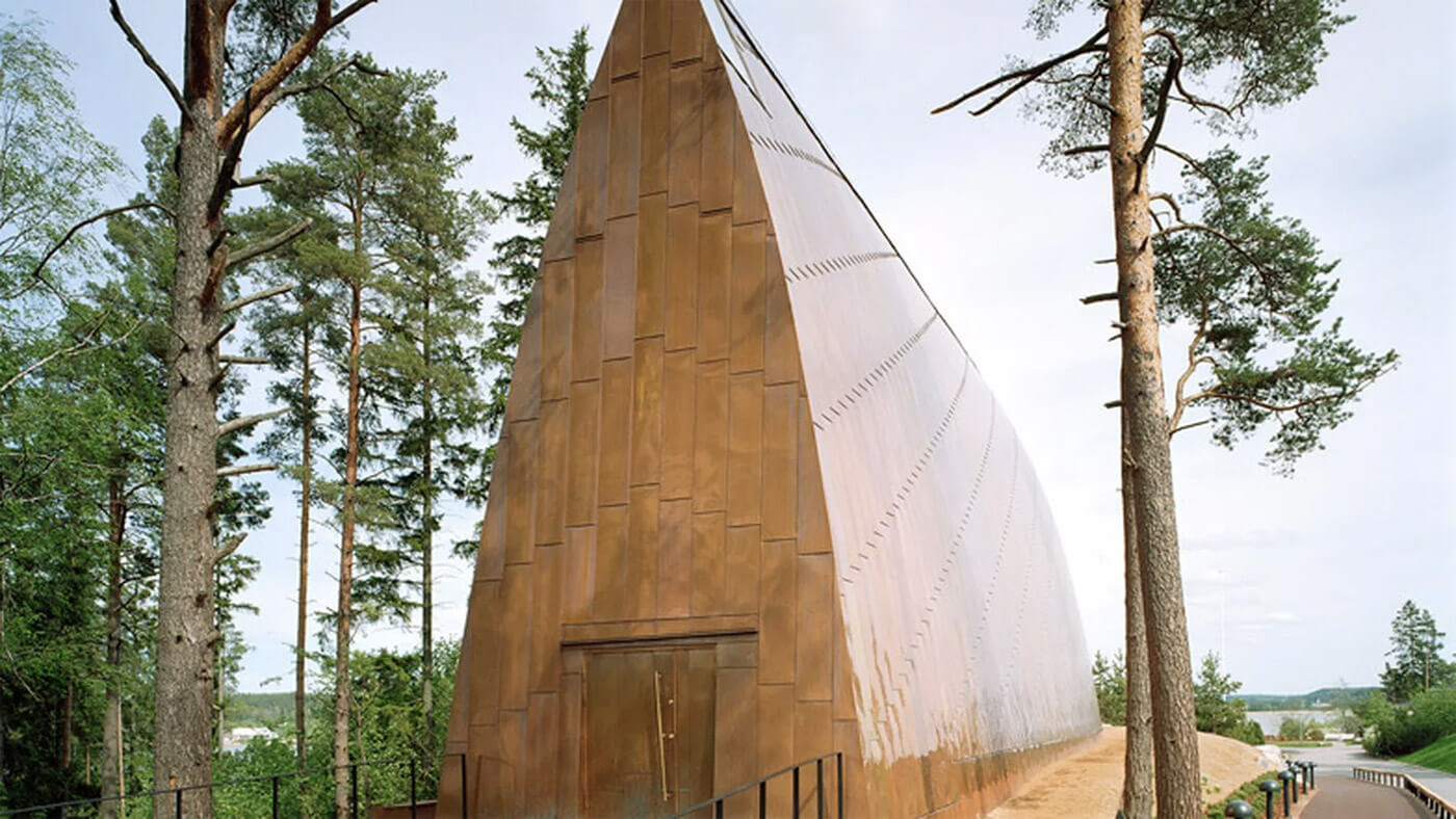 Copper Architecture: St. Henry's Chapel