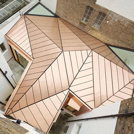 Roofing Materials - Copper Roof