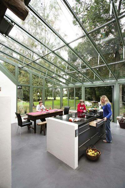 Roofing Materials - Glass Roof