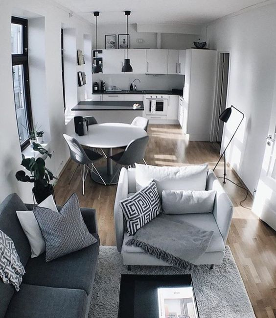 How to Rock an Open-Plan Layout Based on Your Room's Shape