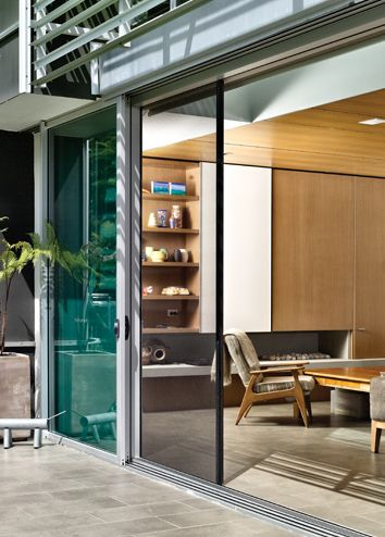 Glass External Doors
