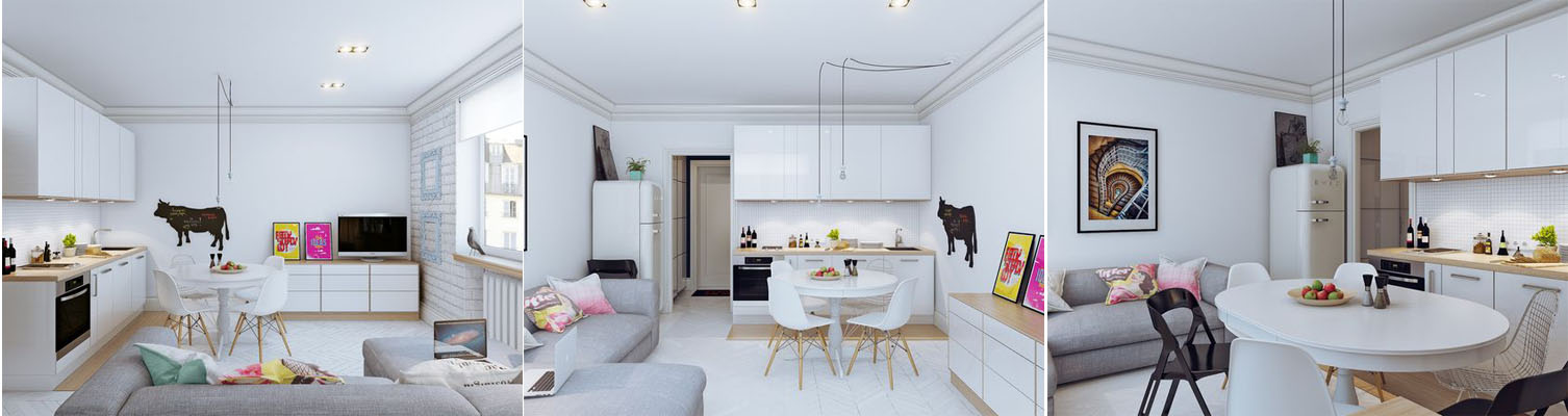 Open-Plan Layout Based on Your Room's Shape