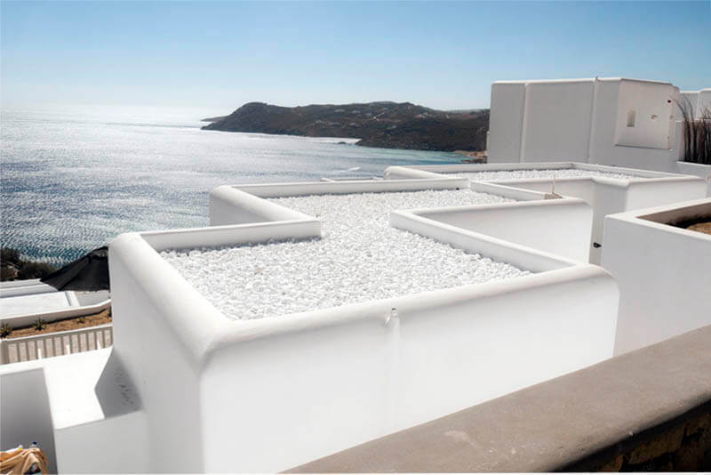 Roofing Materials - Pebble Roof