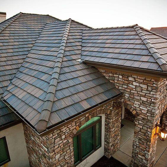 Roofing Materials - Slate Roof