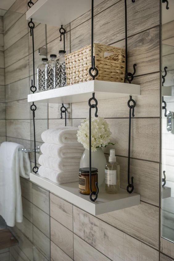 Tiny Bathroom Space Saving Tips
