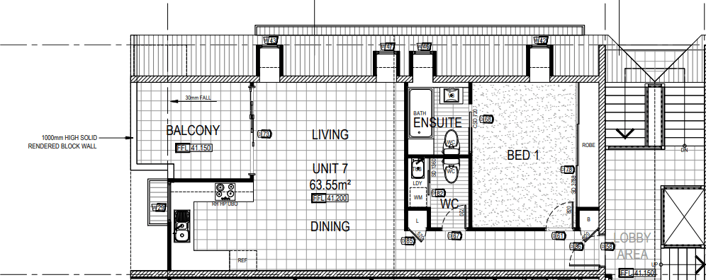 house plans - unit design