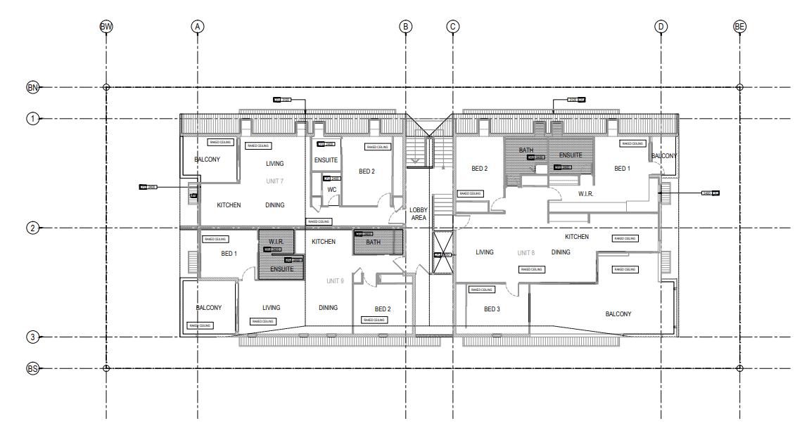 house plans symbol - grid