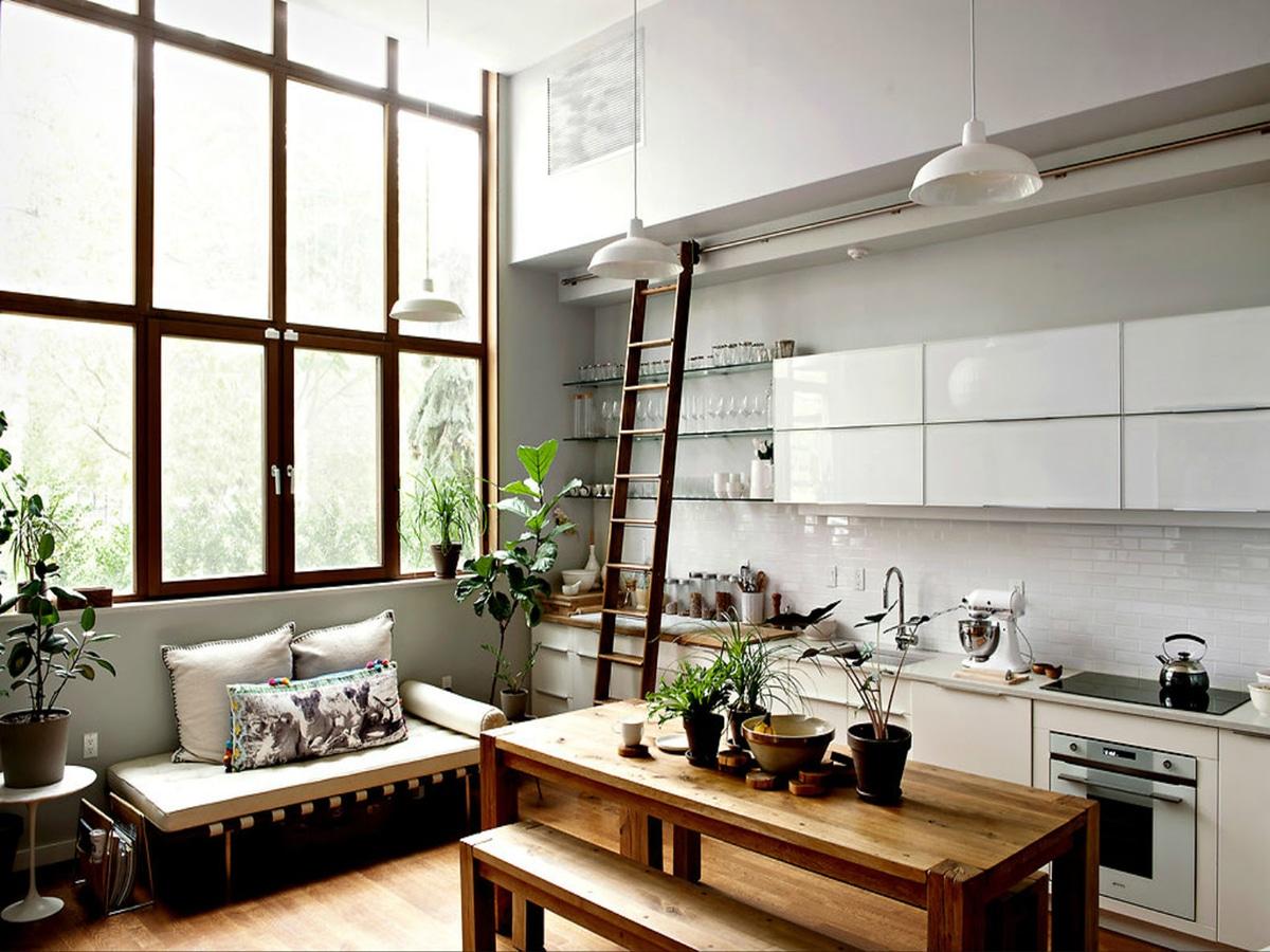 kitchen ladder design