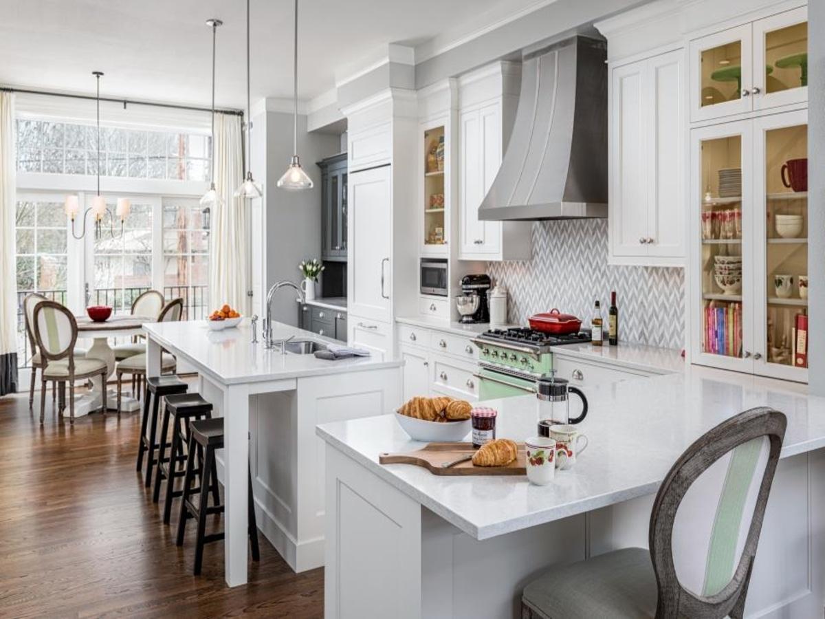 identical cupboards kitchen storage