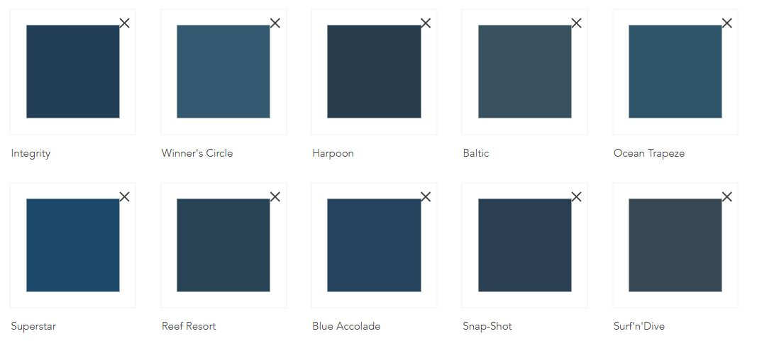 So you want navy blue rooms in your home? Remember our designer tips and you will nail it!