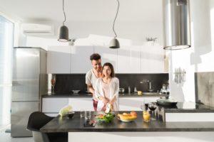 Want an efficient kitchen layout? Create a kitchen work triangle.