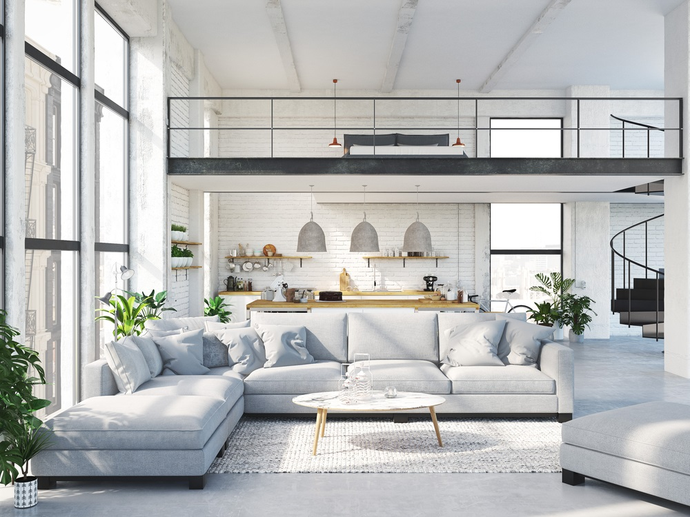 How To Keep Your Loft Apartment Airy, Spacious, But Private
