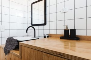 6 Design Tricks for Small Kitchens and Bathrooms