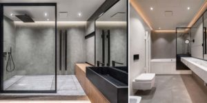 Why You Should Try Black-Framed Bathroom Dividers