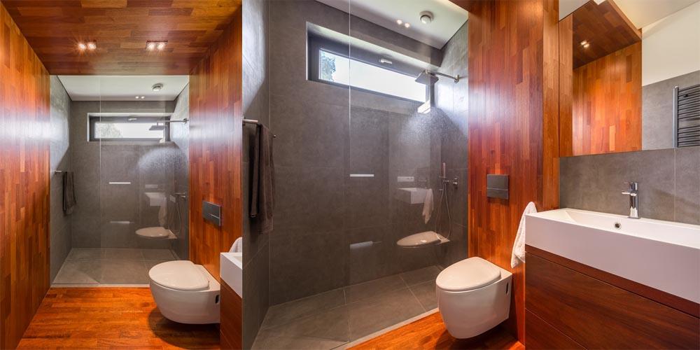Wooden Bathroom Design