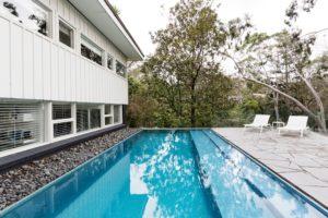 Hamptons style home exterior design