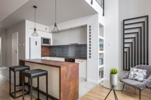 Check Out this Minimal But Decorative Kitchen Countertop and Splashback