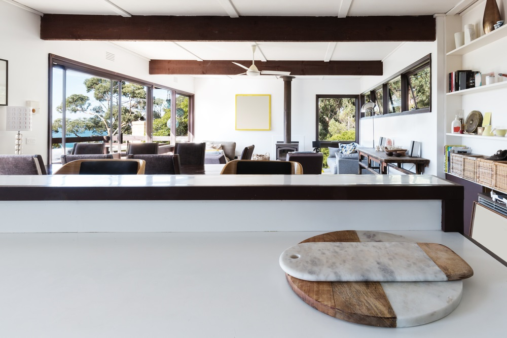 Experience Tranquillity In This '70s Inspired Beach House