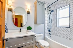 luxury bathroom for less
