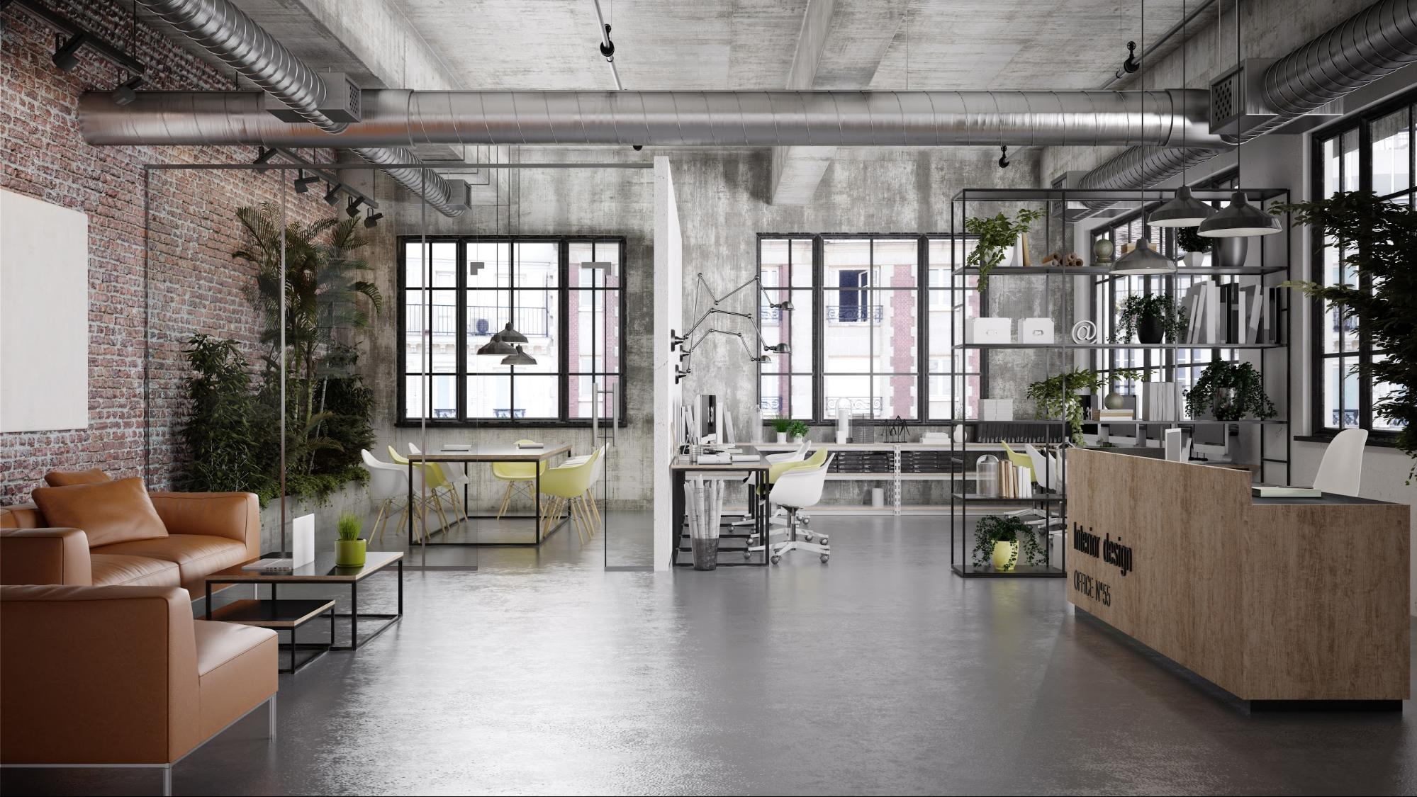 The key elements of an industrial style design commercial fit-out