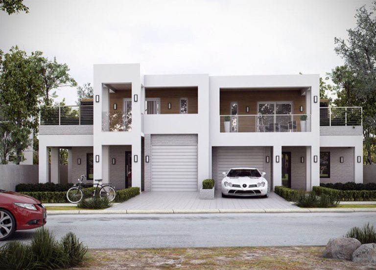 building a duplex