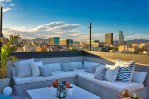 building a rooftop terrace