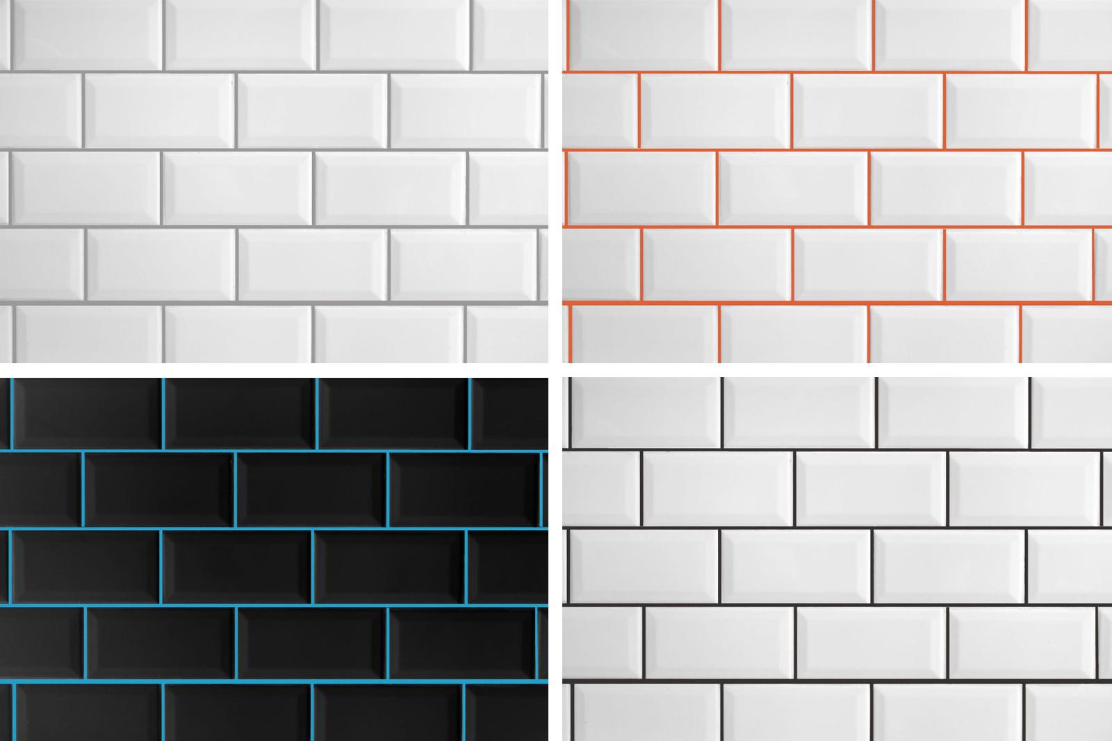 Can I use bathroom tiles for maximum impact?
