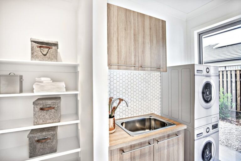basic laundry renovation