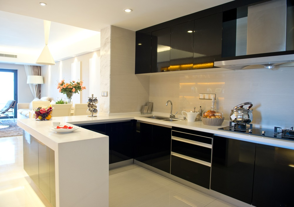 peninsula kitchen