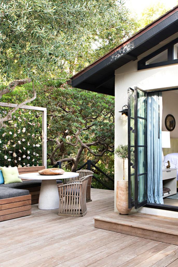 landscaping; deck design