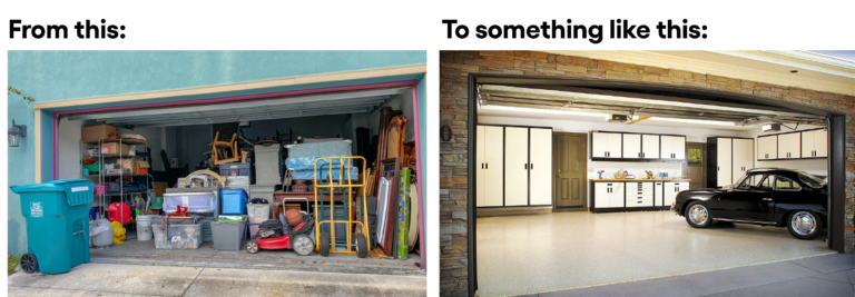 Marie Kondo'ing and Organising Your Shed and Garage