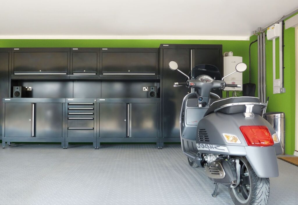 organising your shed and garage