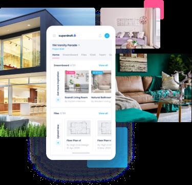 Superdraft-Survey services- Facade-mobile