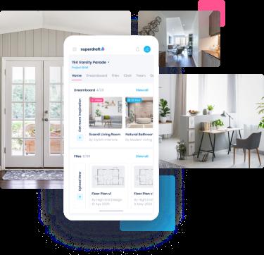 Superdraft-home 3D Visualisation - Facade-mobile