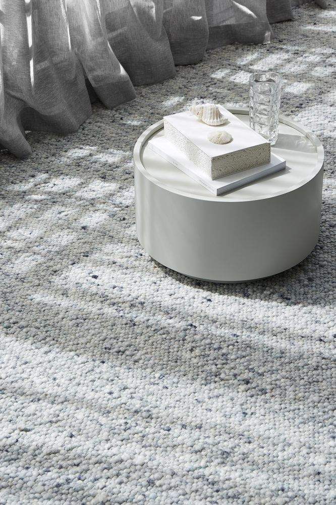 """""""Textured pure wool rugs like the Piazza Modica are surprisingly easy to care for."""""""