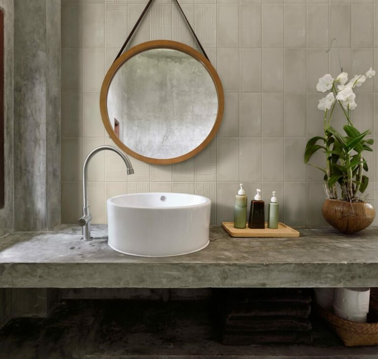 """""""The Gesso Collection is highly recommended if you're planning to use double-fired ceramic tiles on your bathroom walls or kitchen splashback."""""""